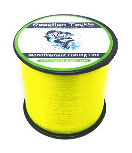Reaction Tackle Mono Yellow 4/1550 (Best 4 Pound Test Line)
