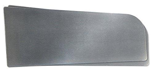 Eagle HSA-SSK Side Splash, Stainless Steel, Self-Adhesive, 16 Gauge, 1 EA, Silver