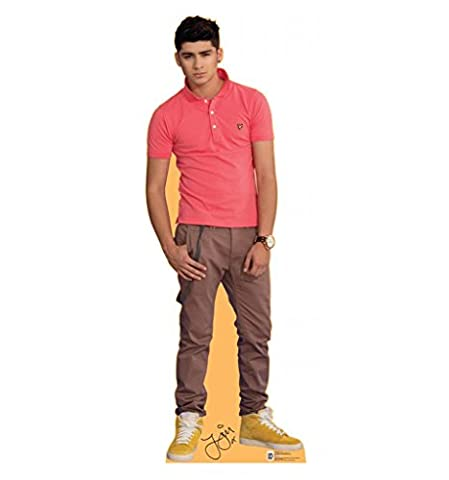 Zayn Malik - One Direction - Advanced Graphics Life Size Cardboard Standup (One Direction Huge Posters)
