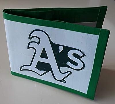 Oakland Athletics MLB Baseball Bi-Fold Duct Tape Wallet
