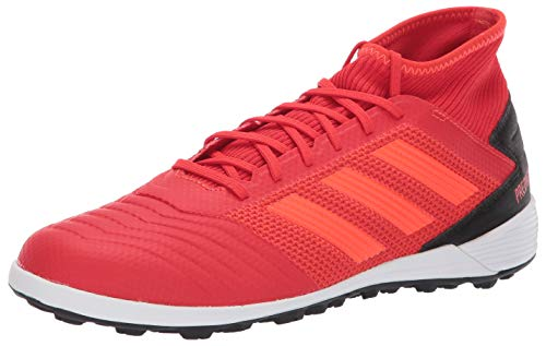 adidas Men's Predator 19.3 Turf, Active Solar red/Black, 9.5 M US