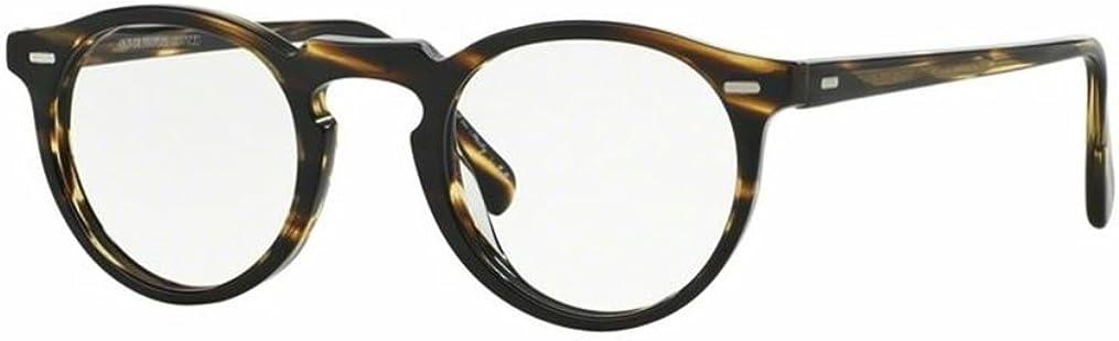 New Oliver Peoples OV 5186 1003 GREGORY PECK WORKMAN Cocobolo Eyeglasses
