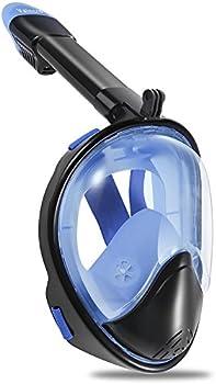 Vaincre 180 Degree Full Face Snorkel Mask