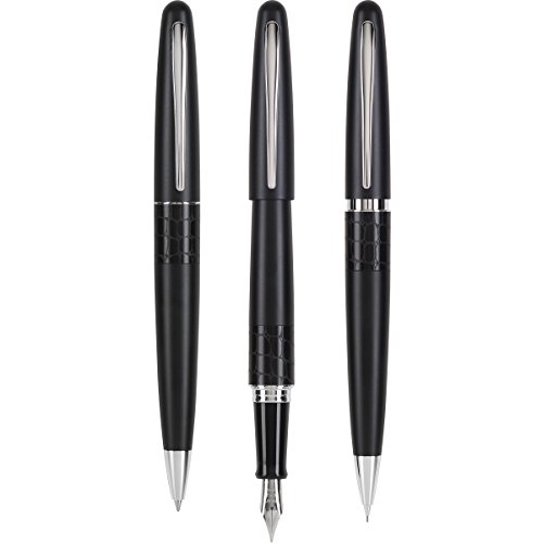 Pilot Fountain, Ball Point and Pencil Gift Set