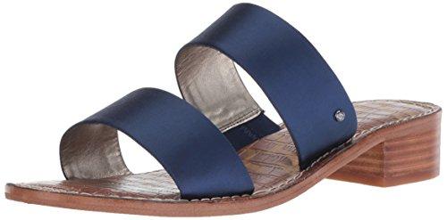 Sandal Women's Blue Jeni Heeled Edelman Sam I0ax44