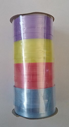 Curling Ribbon 400ft 4 Different Colors ()