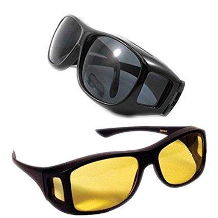 d711953da8 Alfa Mart ™ Hd Vision Wrap Around Sunglasses Fits  Amazon.in  Electronics