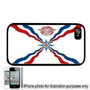 Assyria Assyrian Flag Apple iPhone 4 4S Case Cover Black
