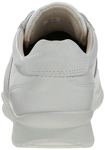 Ecco ECCO MOBILE III - zapatos con cordones de cuero mujer Blanco (WHITE1007)