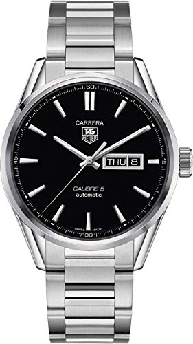 TAG Heuer Men's WAR201A.BA0723 Analog Display Automatic Self Wind Silver Watch -