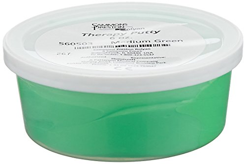 DSS Therapy Putty (6 oz., Medium - Green)