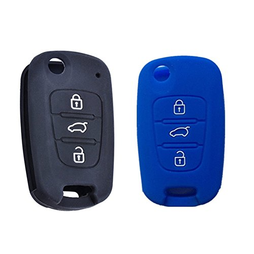 black-and-blue-3-buttons-remote-skin-jacket-silicone-cover-key-case-holder-bag-key-fob-skin-covers-f