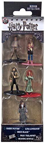 Jada Harry Potter, Luna Lovegood, Sirius Black, Prof. Trelawney, Moaning Myrtle Nano Metalfigs (5 Piece), Multi, -