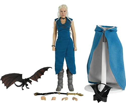 ThreeZero Game of Thrones Daenerys Targaryen (16 Scale) Action Figure 1/6 Scale Statue Figure