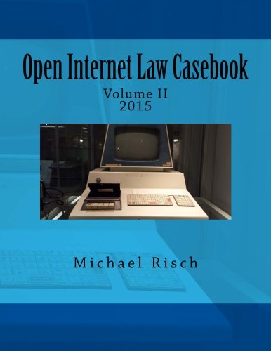 Michael Risch, JD Publication
