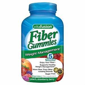 Vitafusion fibres végétales Gestion du poids Gummies, 220 gélifiés