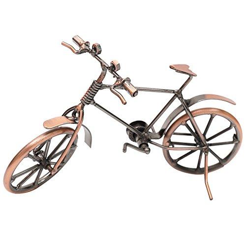Retro vintage modelo de bicicleta de hierro forjado artesanía ...