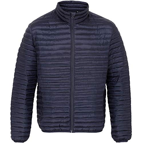 Quilted Mens OutdoorLook Coat Puffa Down Fortrose Navy Jacket w4qxqBCId