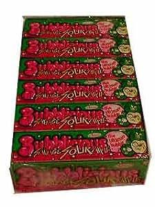 Bubblicious Bubble Gum Savage Sour Apple Flavor