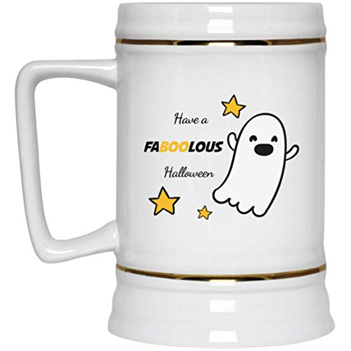 TG MUGS, Halloween - Have FABOOLOUS Halloween - Beer Stein -