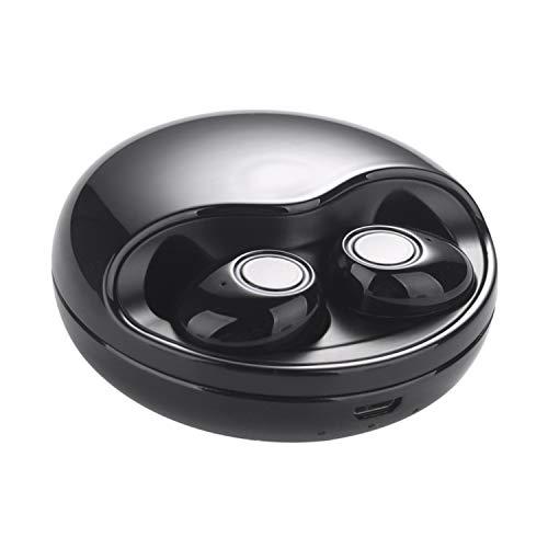 VEEZEEN K10TWS Earbuds EDR True Wireless Stereo Headphones IPX5 Waterproof in-Ear Wireless Charging Case Built-in Mic Headset Premium Sound with Deep Bass for Running Sport