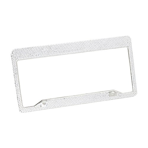 Black 4 Holes Frame /& Quality Guranteed GOGOLO US Standard 2 Set Stainless License Plate Frame Matte with Stainless Steel Screws and Caps