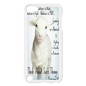 Lamb of God Discount Personalized Cell Phone Case for iPod Touch 5, Lamb of God iPod Touch 5 Cover Kimberly Kurzendoerfer