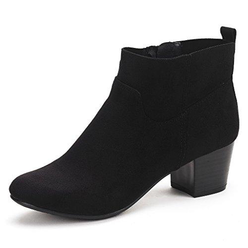 Black Booties Size 5: Amazon.com