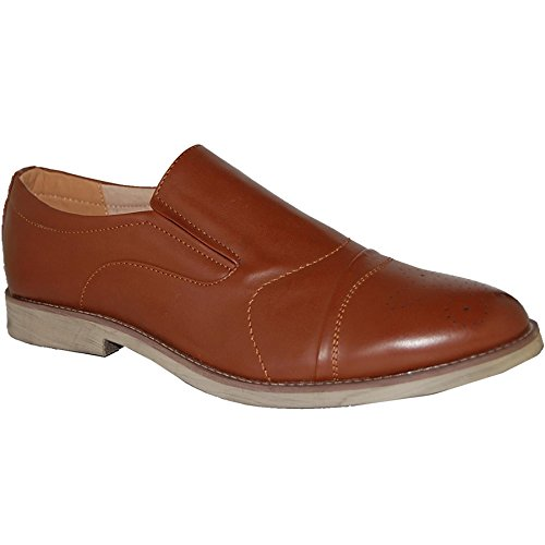 Loafers Artists Leather Shoe Lined Brown Boss Upper A0fYnxqBw