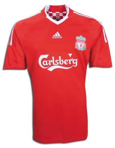d7d2e668aec Amazon.com   Adidas Liverpool 09 10 Home Soccer Jersey by Adidas   Sports  Fan Soccer Jerseys   Sports   Outdoors