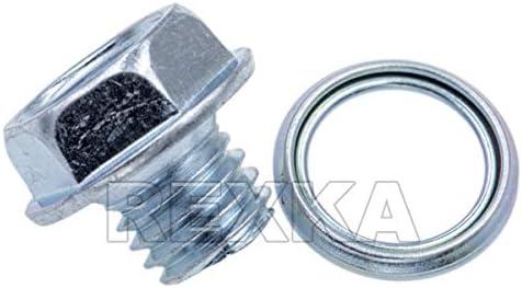 For Toyota Set of 10 Transmission Pan Drain Plug Gasket Genuine 35178-30010