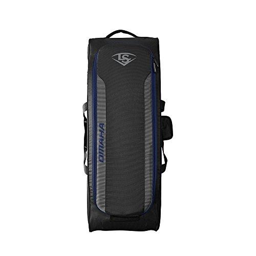 - Louisville Slugger Omaha Rig Wheeled Bag - Navy