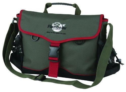 Flambeau Tackle Nylon Bags (Green, 15×11.375×3-Inch), Outdoor Stuffs