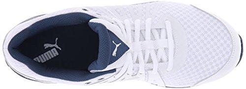 Puma Cell Kilter El entrenamiento cruzado de zapatos White/Silver/Poseidon