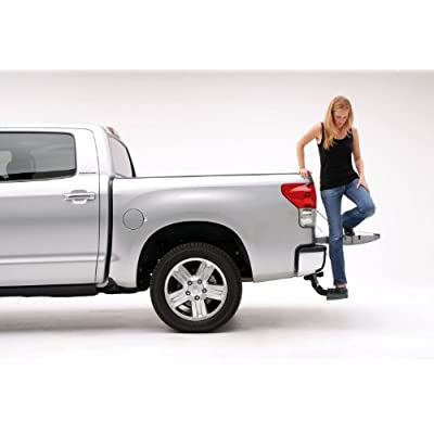 AMP Research 75305-01A BedStep Retractable Bumper Step for 2007-2013 Toyota Tundra: Automotive