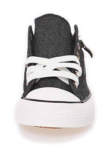 Damen Schuhe Sneakers Turnschuhe Sommerschuh Sportschuh 165 Schwarz