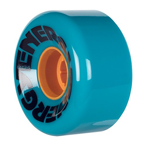 Radar Wheels - Energy 62 - Roller Skate Wheels - 4 Pack of 78A 32mm x 62mm Quad Skate Wheels | Teal ()