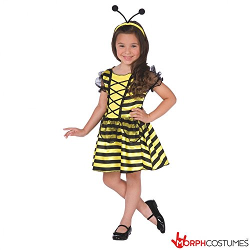 Girls Bumble Bee Costume Size Age 4 - 6 Years