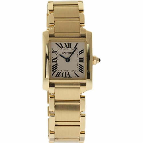 Cartier Tank Francaise swiss-quartz womens Watch W50002N2 (Certified Pre-owned)