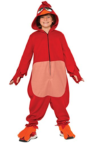Rubie's Costume Kids Angry Birds Movie Costume, Red, Medium