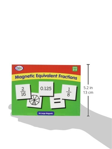 Didax Educational Resources 211035 Magnetic Equivalent Fractions
