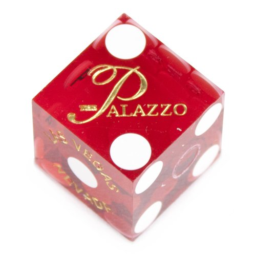 Precision 19mm Casino (Pair (2) of Official 19mm Casino Dice Used at The Palazzo Casino by Brybelly)