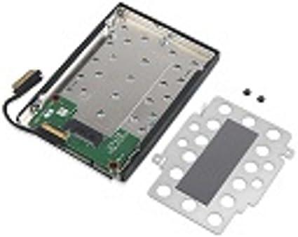 Lenovo 4XF0N82414 Caja para Disco Duro Externo M.2 SSD Enclosure Negro, Gris - Disco Duro en Red (M.2, M.2, SSD Enclosure, Negro, Gris): Amazon.es: Informática