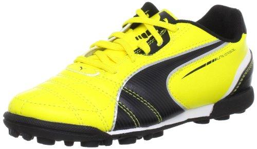 Puma, Mädchen Sneaker Chamas Amarelo-preto-branco