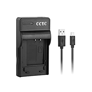 CCYC LI-90B, LI-92B, LI-50B USB Fast Charger for Olympus LI90B LI92B LI50B Camera Battery, Olympus Tough TG-3, TG-4, SH-1, SH-2, SH-60, SZ-16, SZ-17, TG-850, TG-860, SP-100EE, TG-Tracker more Cameras