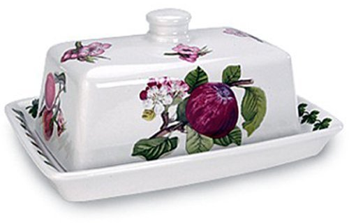 (Portmeirion Pomona Covered Butter Dish by Portmeirion)