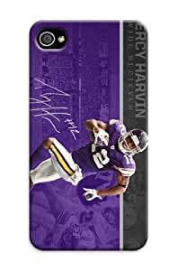 DIY NBA Minnesota Vikings Outstanding Hard Cover Case For iPhone 4/4S