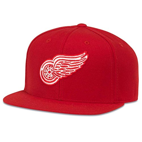 American Needle 400 Series NHL Team Hat, Detroit Red Wings, Red (400A1V-DRW)