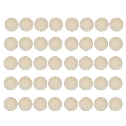 (Nipple Breast Covers, Disposable Breast Pasties, Adhesive Bra Nippleless Cover (20Pairs))