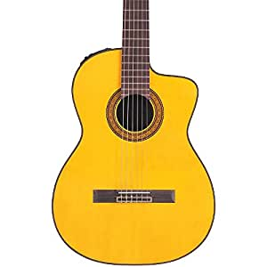 takamine tc132sc acoustic electric nylon string guitar natural with case musical. Black Bedroom Furniture Sets. Home Design Ideas